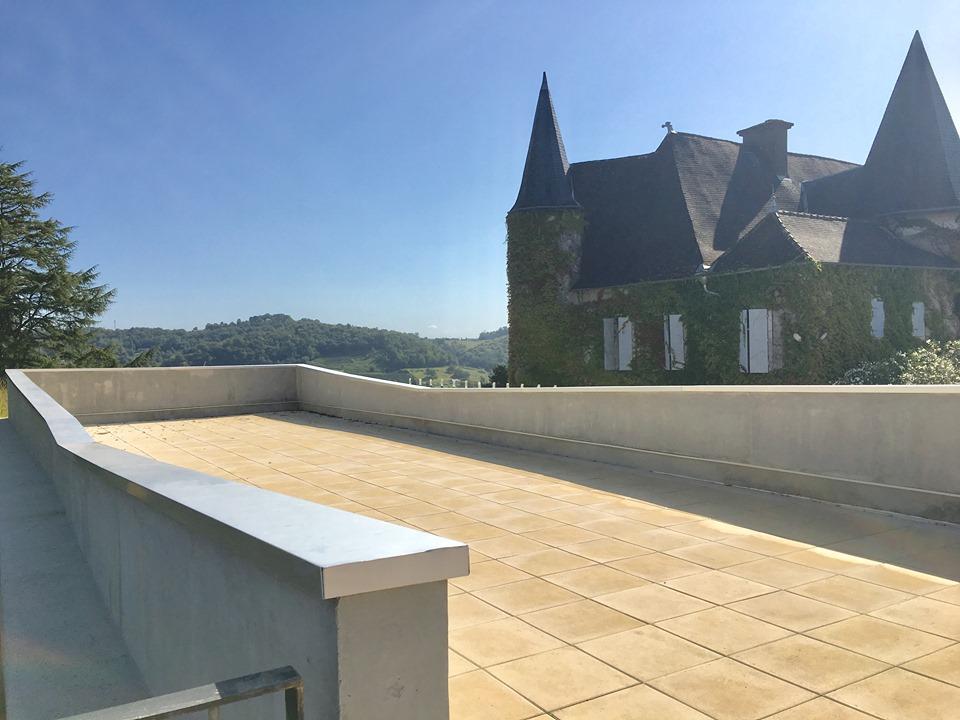 terrasse chateau lafitte jurancon