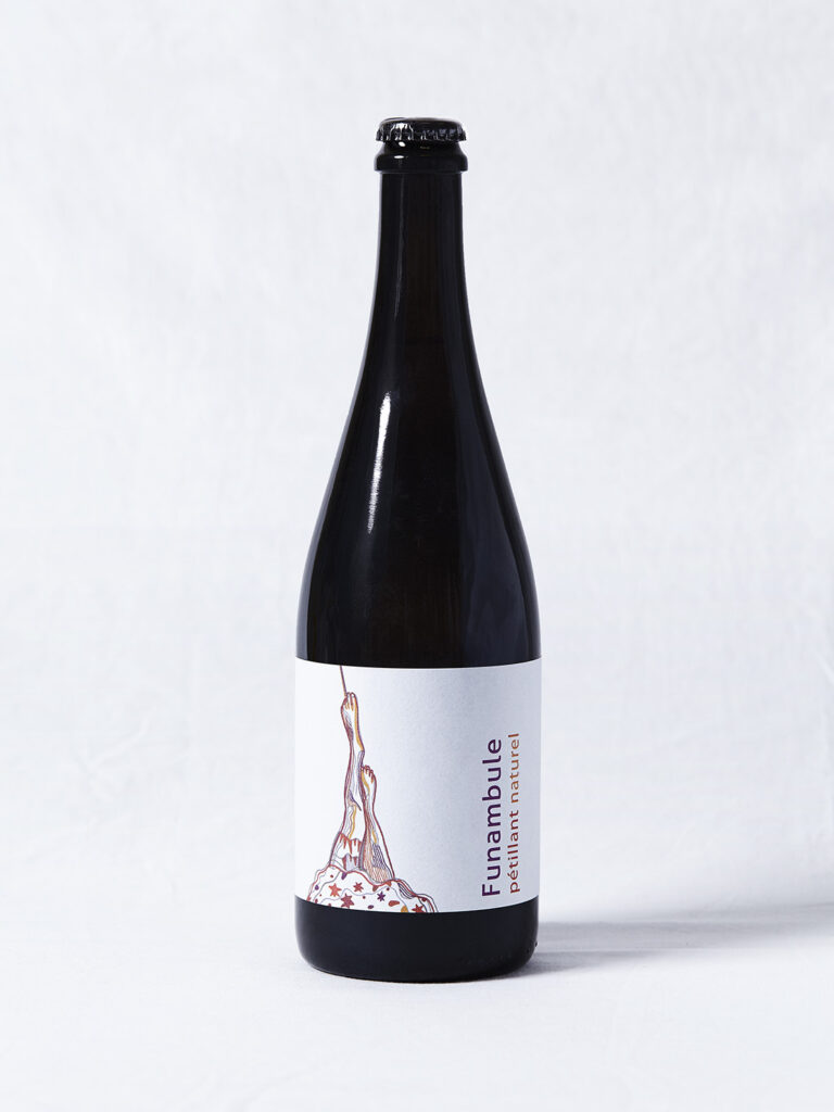 vin pétillant naturel - FUNAMBULE - château lafitte
