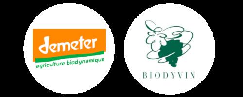 demeter biodyvin logo